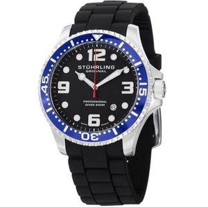 Stuhrling Aquadiver Professional Diver 200M Watch